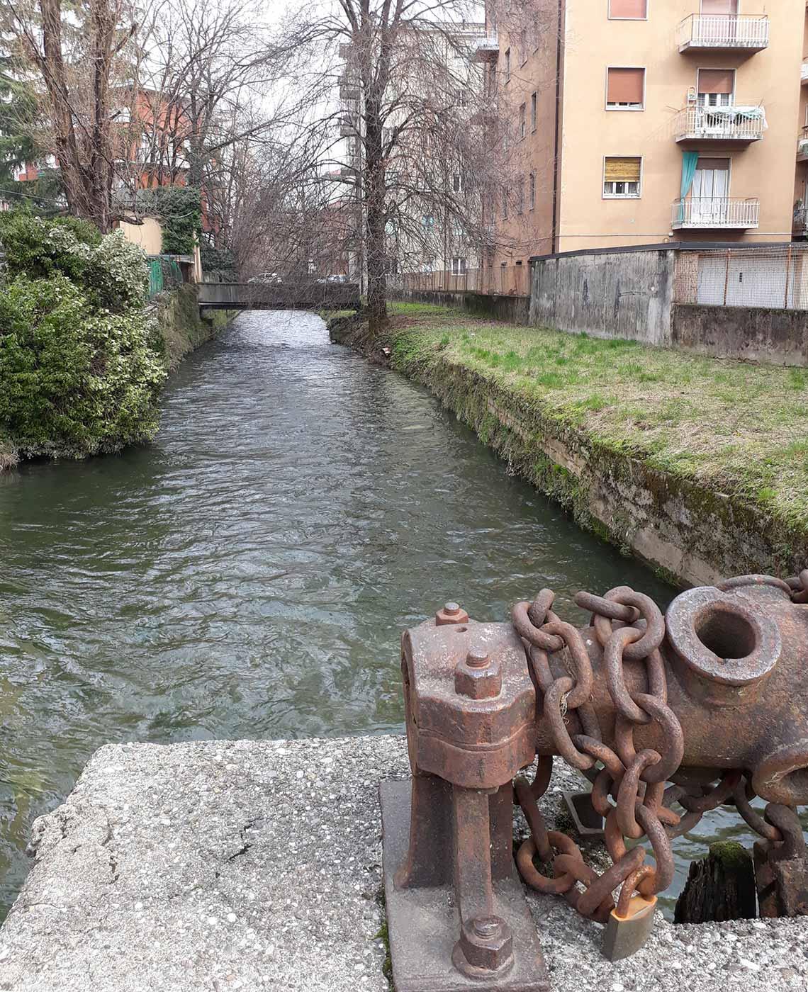 Roggia Serio in via A. da Rosciate