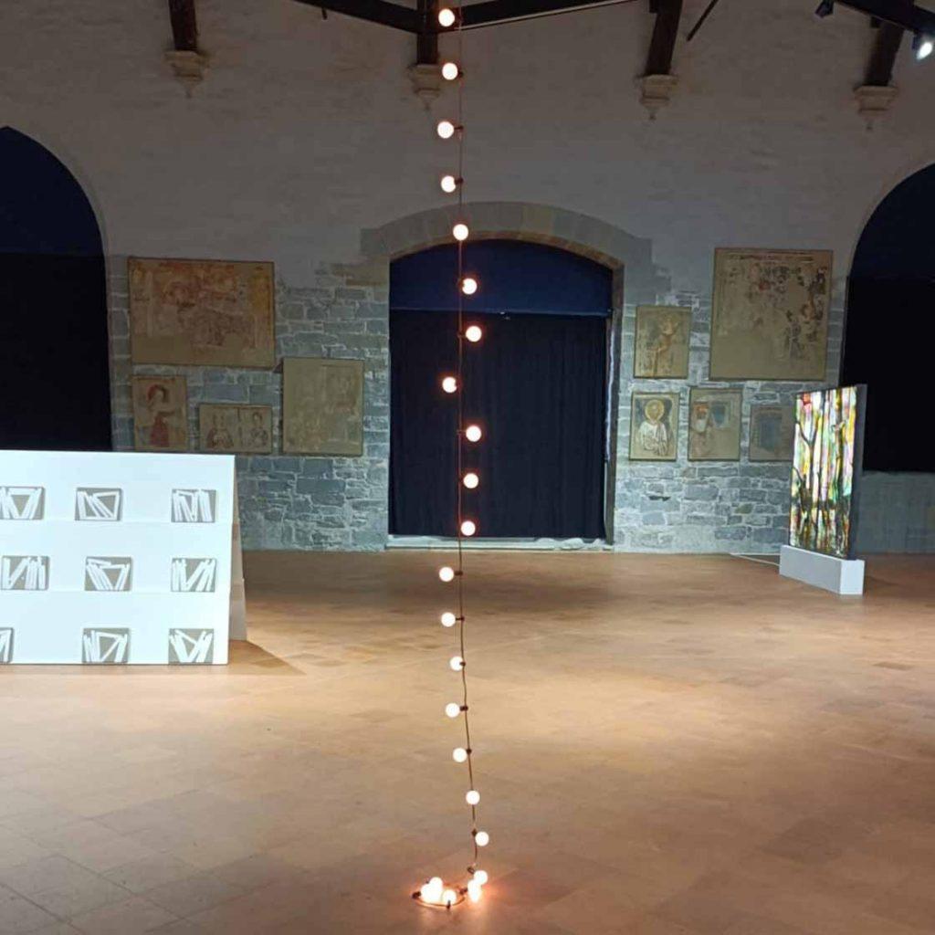 L'essenziale e poetiva Last light di Felix Gonsalez Torres