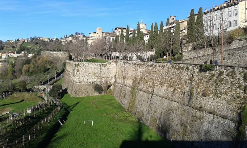 Veduta delle Mura Venete